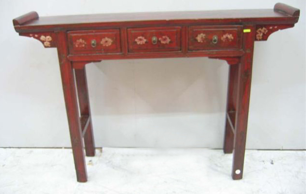 console chinoise ancienne table de lit. Black Bedroom Furniture Sets. Home Design Ideas